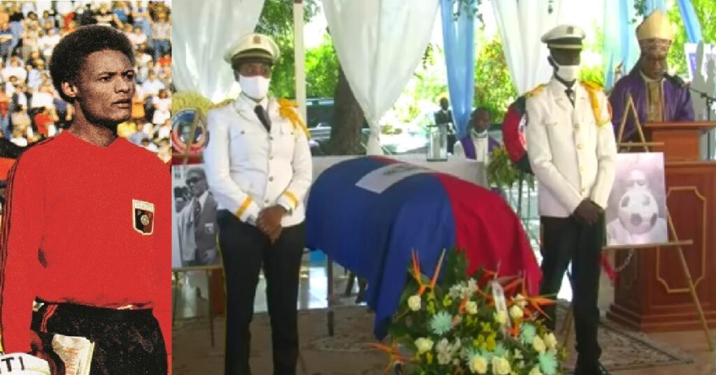 Haïti: Funérailles nationales du légendaire Ernest Jean Joseph au Parc du souvenir