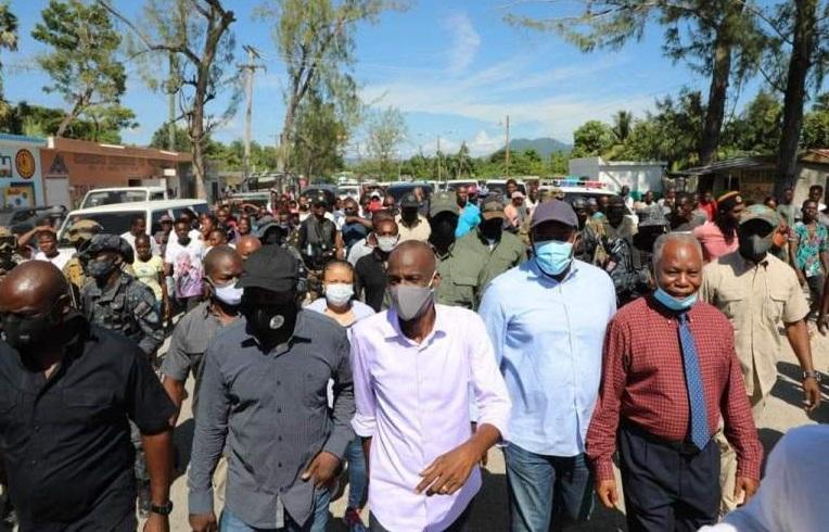 Haïti: Jovenel Moïse inaugure les travaux de renforcement d'une centrale électrique