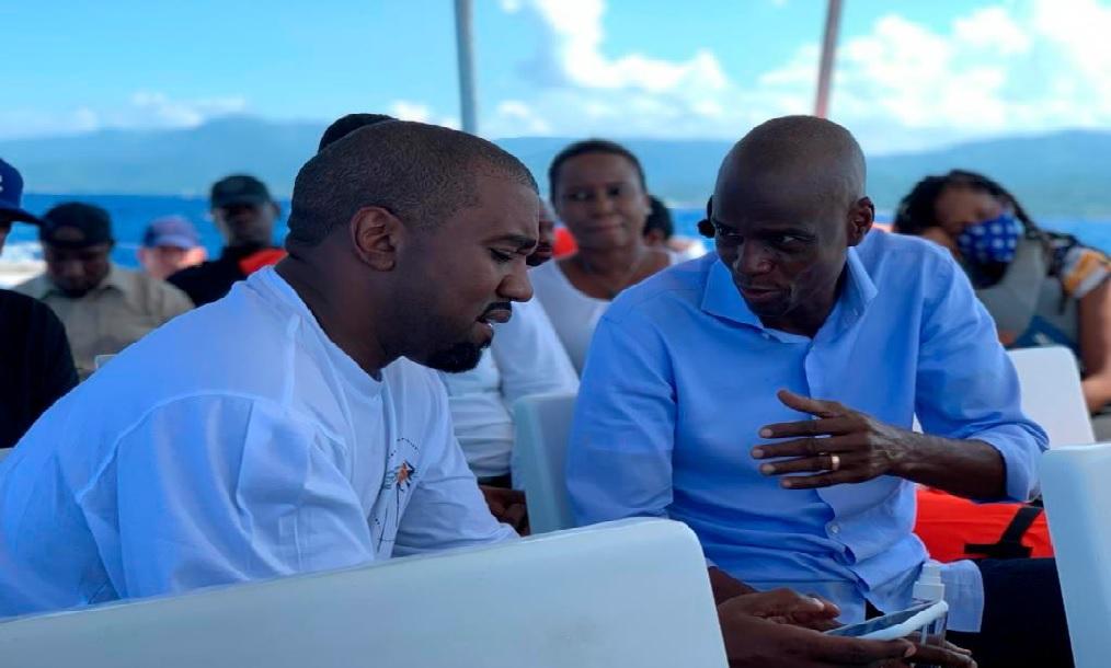 Haïti: Le rappeur américain Kanye West en visite dans le Grand Nord