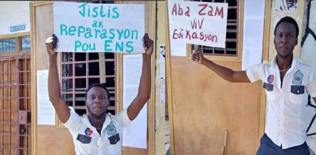 Haïti: Ouverture d'une enquête autour de l'incident causant la mort de Grégory Saint-Hilaire à l'ENS