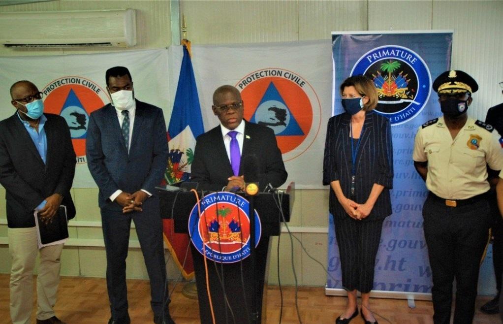 Haïti: Joseph Jouthe renouvèle son support à la DCPJ aux fins de combattre l'insécurité dans le pays