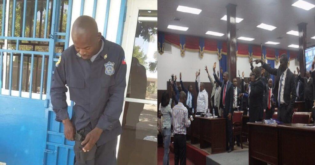 Haïti: L'agent de sécurité parlementaire, Alix Luc Auguste, criblé de balles au Bicentenaire