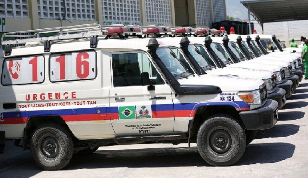 Haïti: Le Centre ambulancier national dispose d'une flotte active de 78 véhicules d'urgence