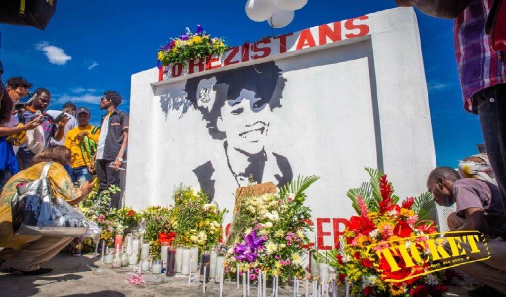Haïti: Le site de décharge transformé en mémorial à la mémoire d'Evelyne Sincère