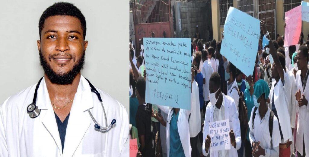 Haïti: Les hôpitaux publics en grève suite à l'enlèvement brutal du Dr Hans David Telemaque