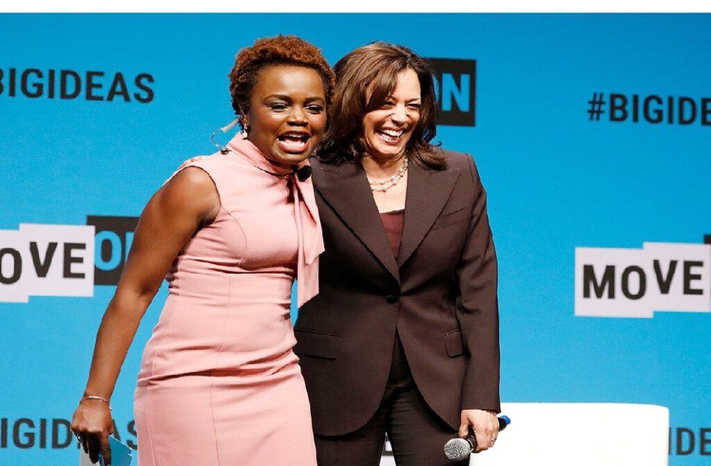 Monde: Karine Jean Pierre, d'origine haïtienne, nommée directrice de cabinet de Kamala Harris