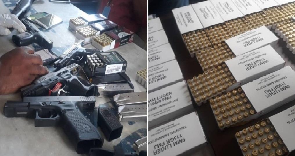 Haïti: Des armes et de munitions en importante quantité saisies au port Lafito