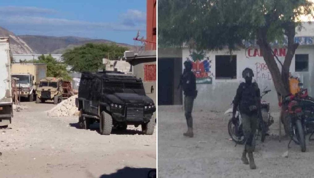Haïti : Trois individus en unifome militaire tués par la PNH lors d'une opération à Canaan