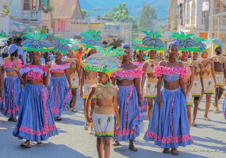 Haïti: Première journée pré-carnavalesque à Jacmel «Kanaval Jakmèl se yon patrimwàn. An n pwoteje l»