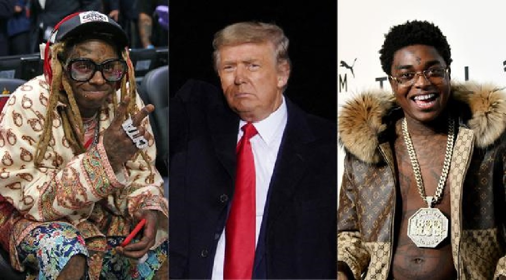 Monde: Donald Trump gracie les rappeurs Lil Wayne et Kodak Black