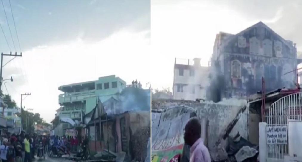 Haïti: Tristesse après l'incendie du siège officiel du carnaval culturel à Jacmel