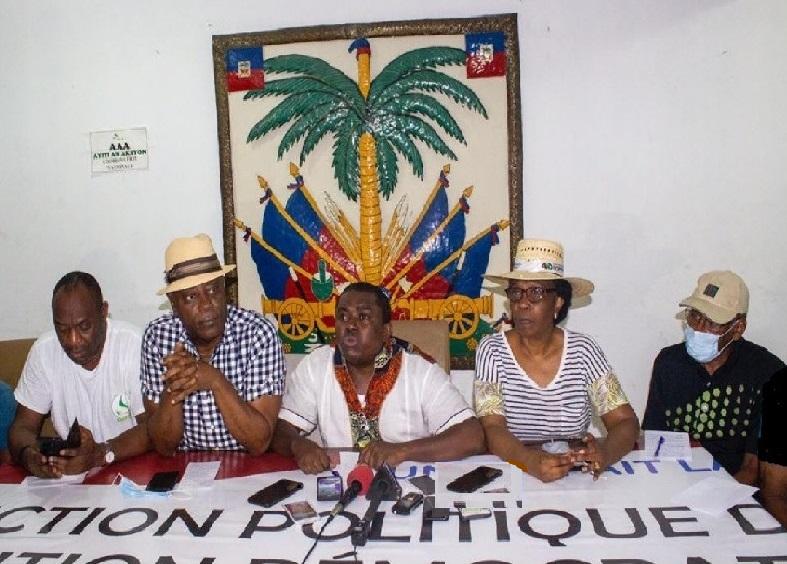 Haïti: L'opposition publie un calendrier de mobilisation pour le départ du président le 7 févier 2021