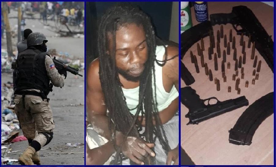 Haïti: Le présumé bandit Poyau Carl Henry, alias déporté, appréhendé par la PNH