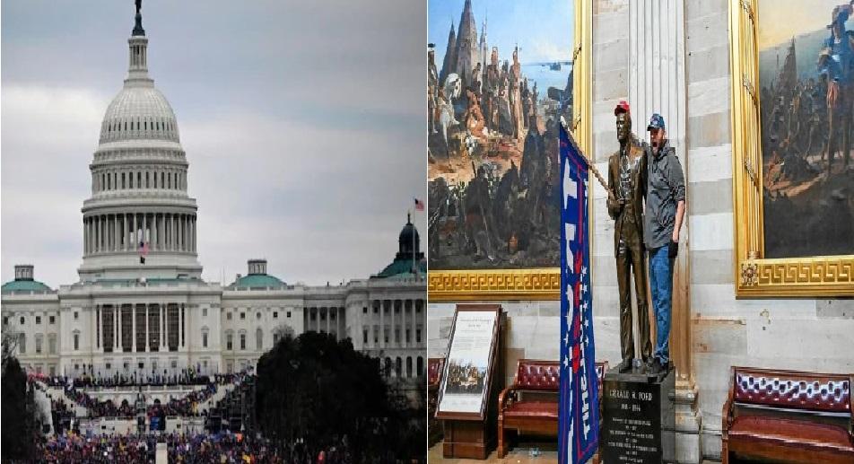 Monde: Chaos à Washington, le Capitole pris d'assaut par des partisans de Trump