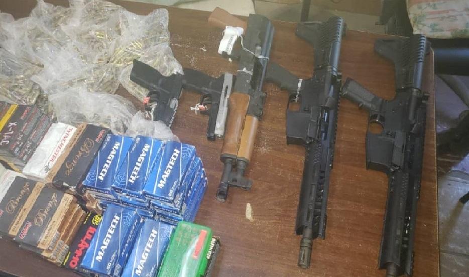 Haïti: Importante saisie d'armes et de munitions par les agents de la brigade de Surveillance Douanière
