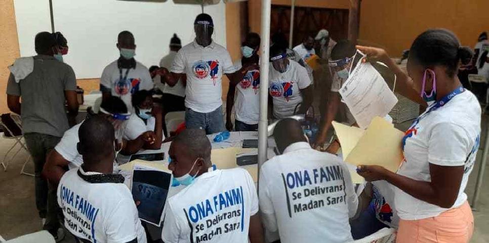 Haïti: Implémentation du programme ONAFANM dans la Cité de l'Indépendance