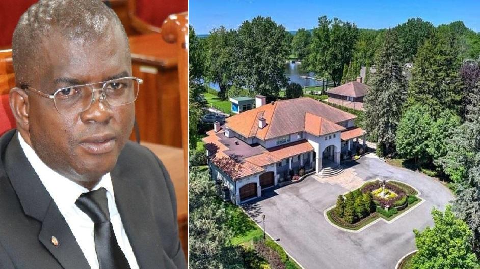 Monde: Achat cash d'une villa de 4,25 millions par la famille du sénateur Rony Célestin au Canada