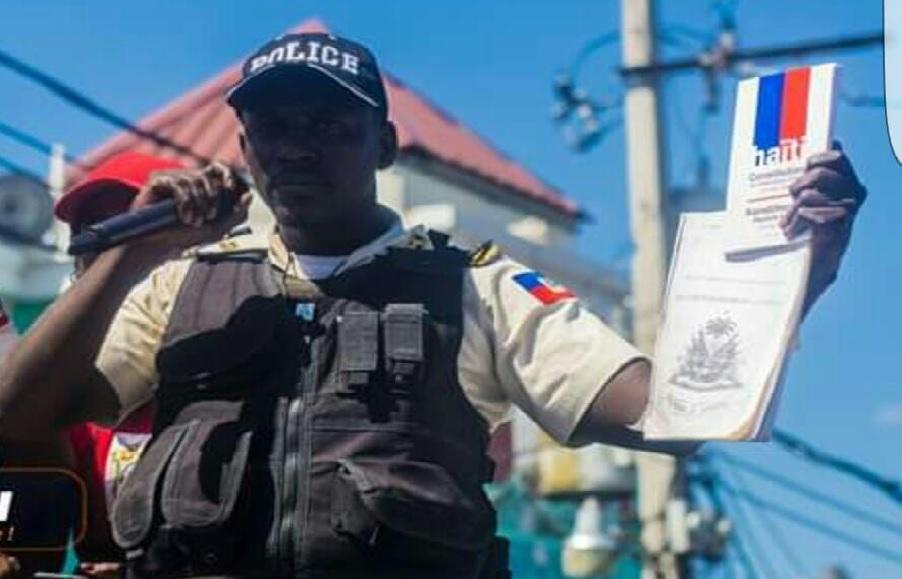 Haïti: Abelson Gros Nègre, ex-porte-parole du  SPNH-17, arrêté et transféré au Pénitencier national