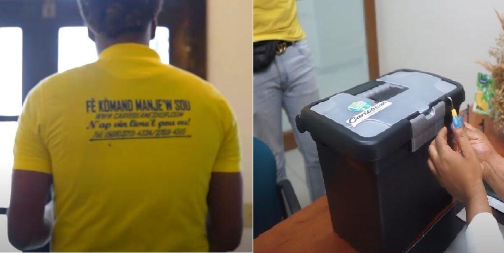 Haïti: Caribbean eShop ravi d'offrir son service de restaurant virtuel et de livraison à domicile