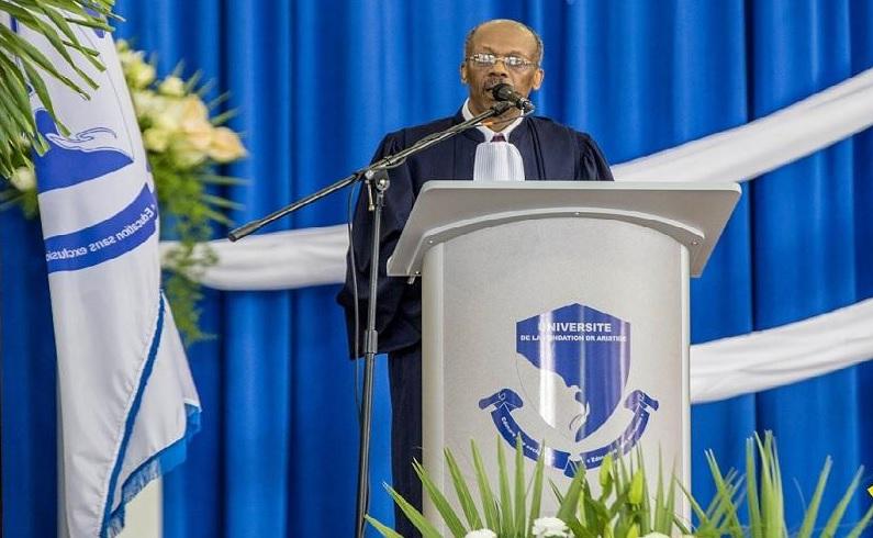 Haïti: Discours du Dr Jean-Bertrand Aristide, Président de l'UNIFA, à l'occasion de la cérémonie de collation de diplômes