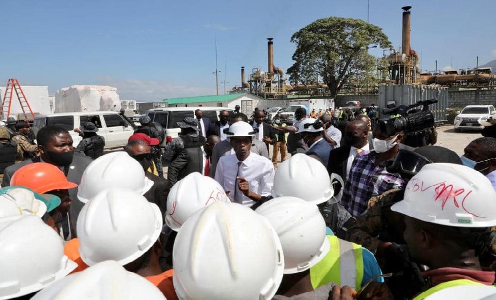 Haïti:  La centrale à double combustible  de Carrefour en opération au mois de mai