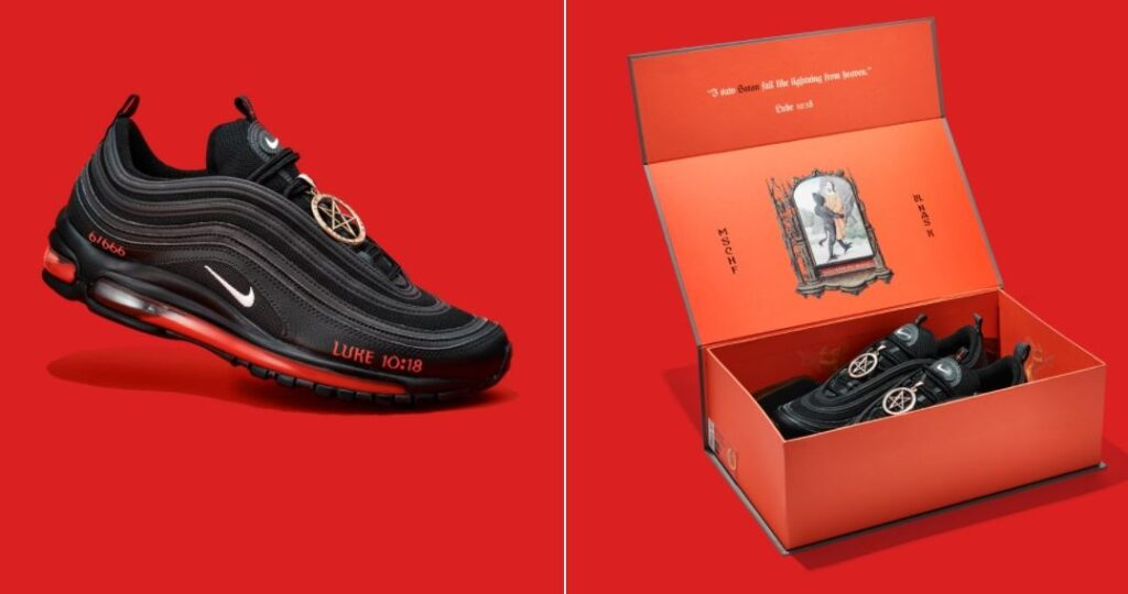 Monde: 666 paires de chaussures Nike fabriquées avec du sang nommées «Satan»