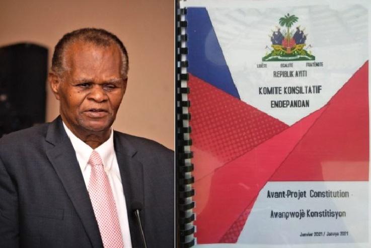 Haïti: Boniface Alexandre indigné par l'indiférence des femmes et des jeunes face à l'avant-projet de constitution