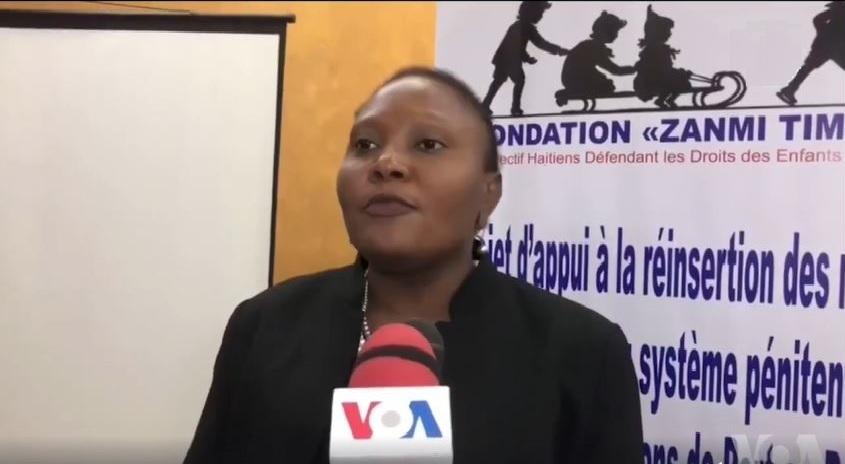 Haïti: Guylande Mésadieu «La Cour de Cassation est  influencée par des acteurs politiques de l'opposition»