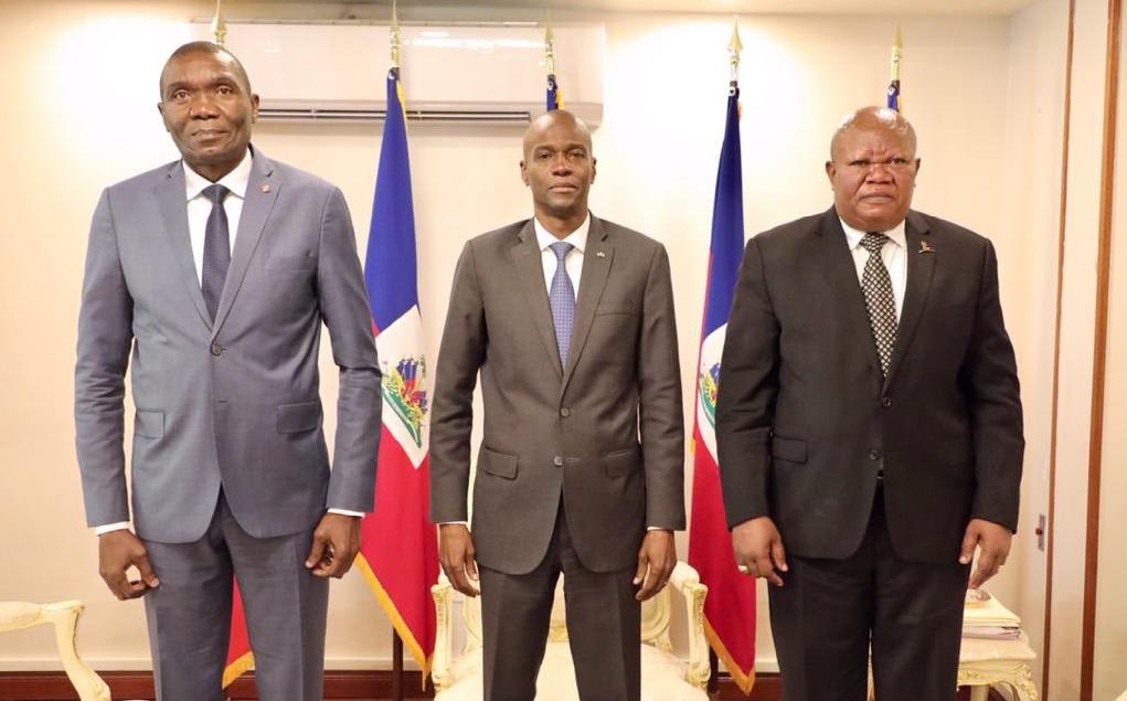Haïti: Rencontre au palais national entre les présidents des trois pouvoirs de l'État