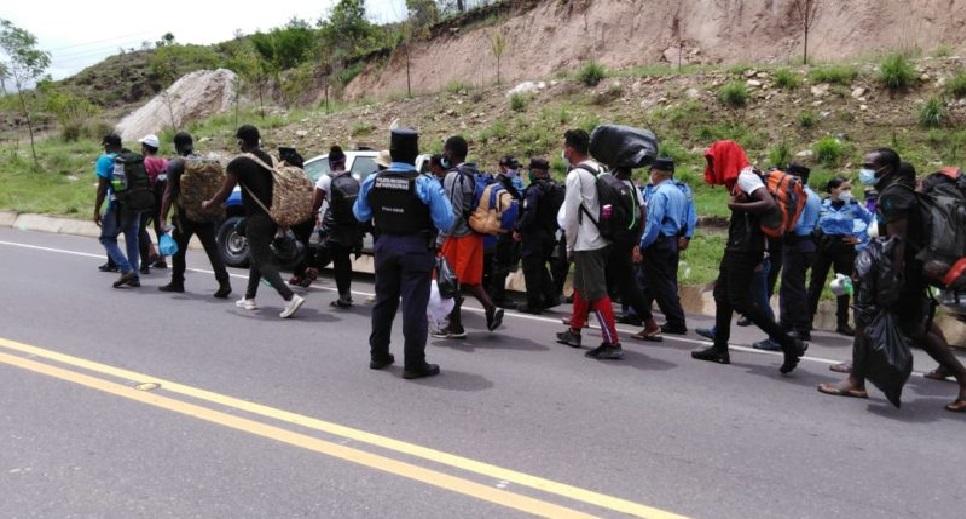 Monde: Plusieurs citoyens haïtiens arrêtés en Amérique centrale pour transit illégal