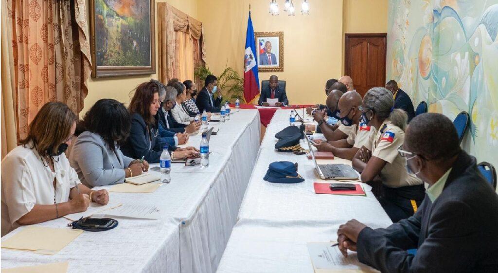 Haïti: Le premier ministre Claude Joseph, le CSPN et le secteur privé veulent enrayer l'insécurité