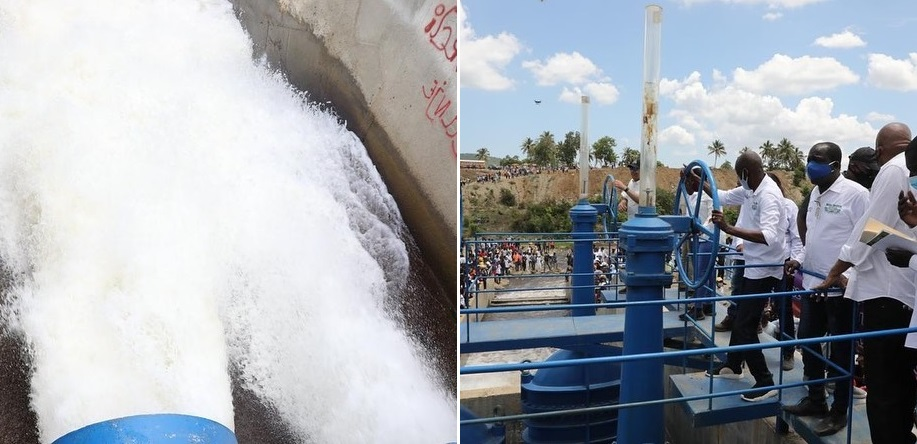 Haïti: Inauguration officielle du Barrage hydroélectrique de Marion