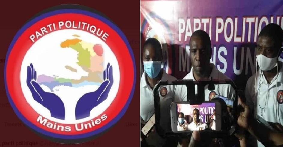 Haïti: Lancement officiel de «Mains Unies», un nouveau parti politique haïtien