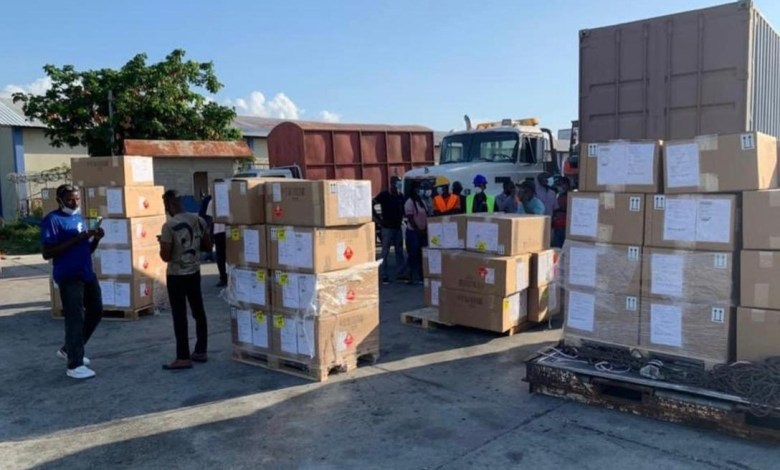 Haïti:  Arrivée d'une première cargaison de matériels pour la réalisation du référendum au pays
