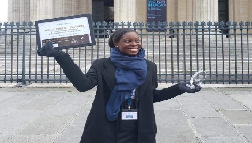 Monde: Rose-Lumane Saint Jean  remporte le prix public au concours international  d'Eloquence