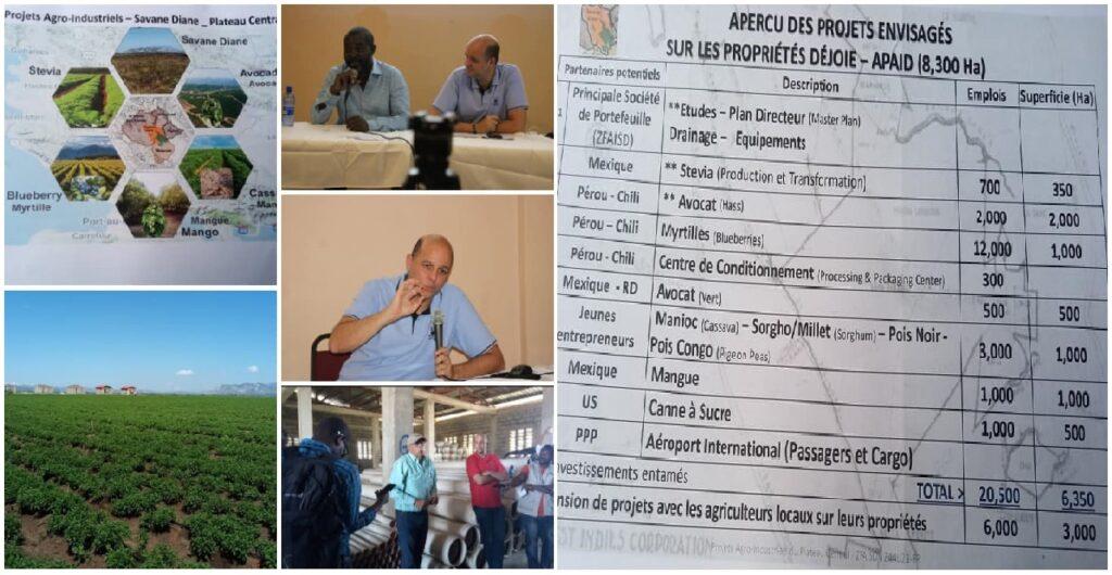 Haïti: Lancement officiel du projet de zone franche agro-industrielle de Savane-Diane