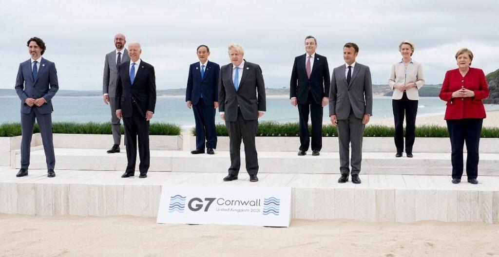 Monde:  Le G7 s'engage à donner un milliard de doses de vaccins anti-Covid aux pays pauvres