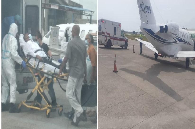 Haïti: Arrivé en ambulance, l'ex-président Jean Bertrand Aristide quitte finalement le pays