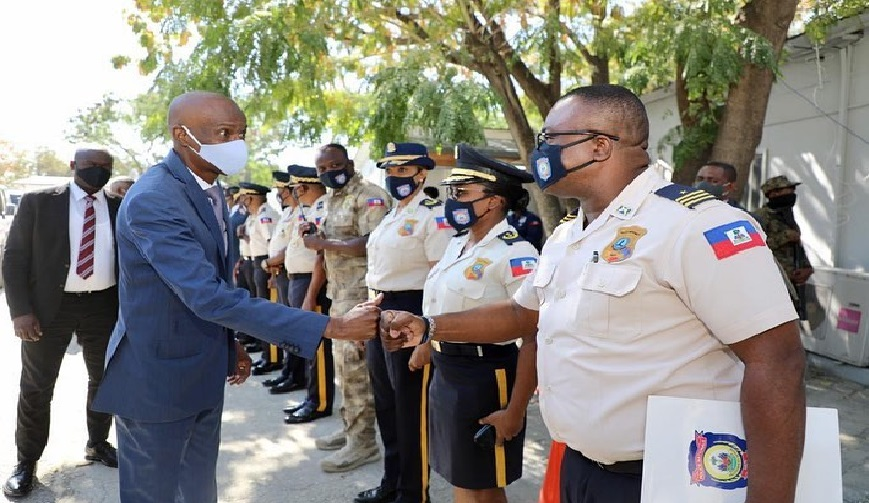 Haïti: Jovenel Moïse « La police haïtienne doit mieux s'organiser »