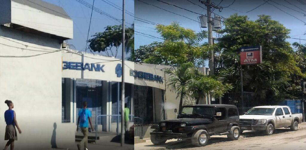 Haïti: La succursale de la Sogebank à Martissant vandalisée par des bandits armés