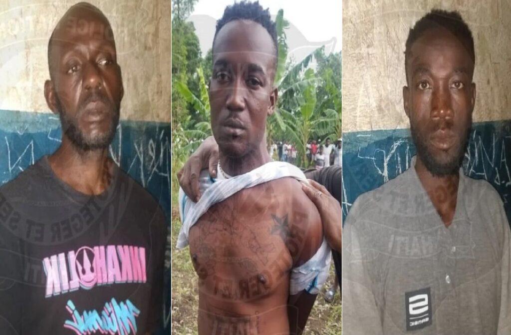 Haïti: Trois individus interpellés par la Police avec le support de la population