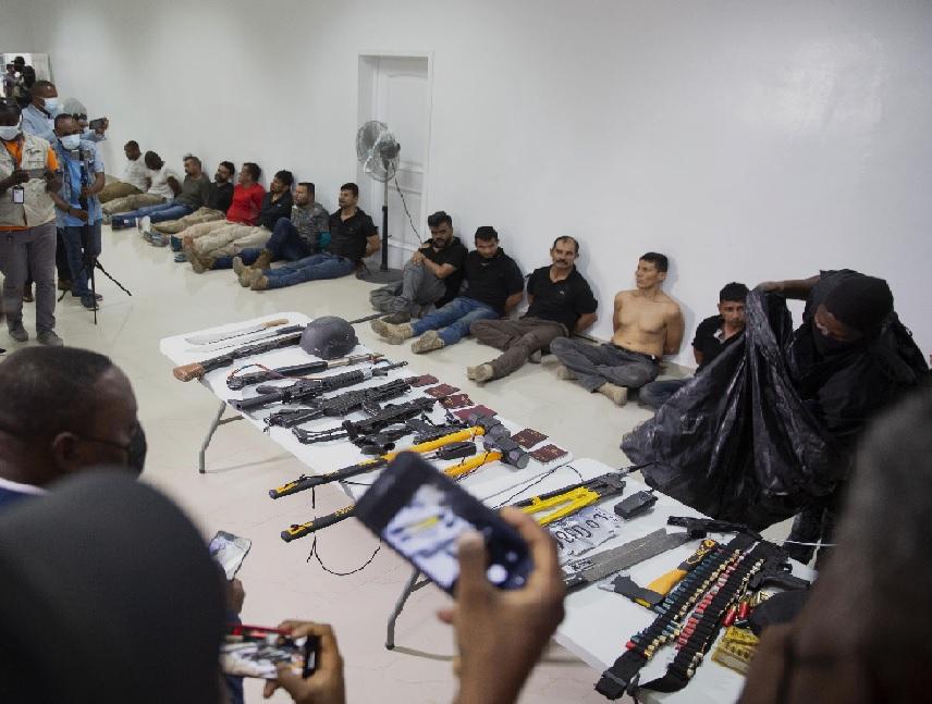 Haïti: Arrestation de 26 Colombiens et deux Américains d'origine haïtienne pour l'assassinat de Jovenel Moïse