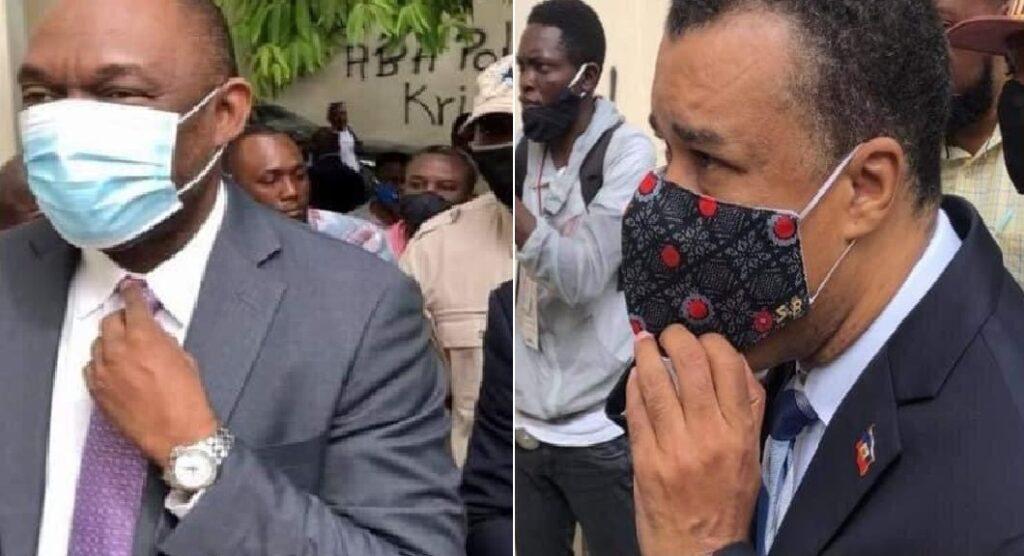 Haïti: Youry Latortue et Steven Benoît répondent aux questions du chef du parquet