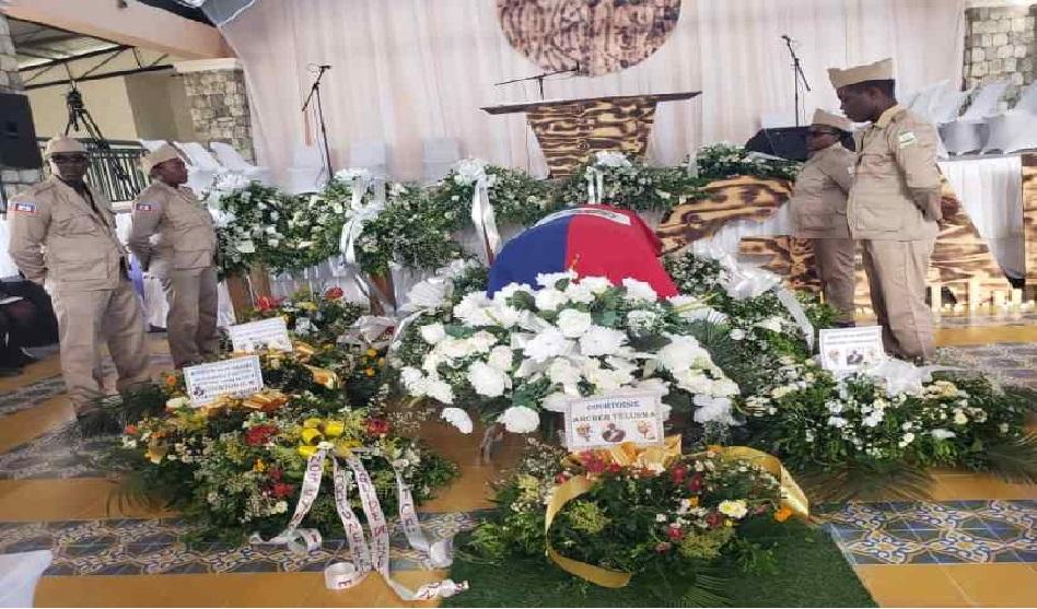 Haïti:  Funérailles de l'ex-sénateur et ancien Délégué départemental du sud, Jean Gabriel Fortuné