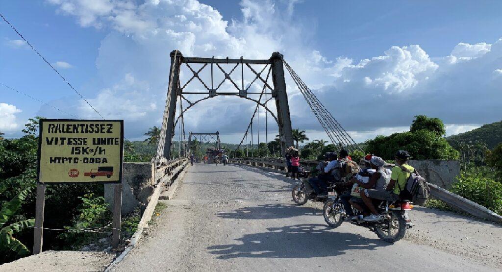 Haïti: Le Pont Estimé de la Grand'Anse fermé à la circulation des véhicules
