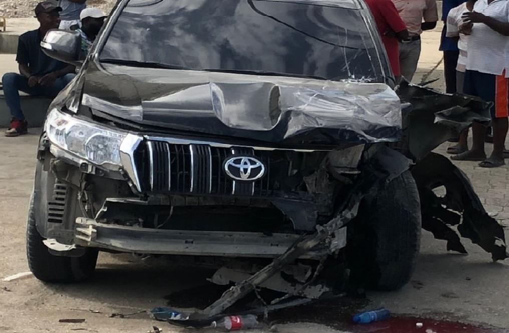 Haïti: Le cortège du ministre Claude Joseph impliqué dans un accident dans le Sud
