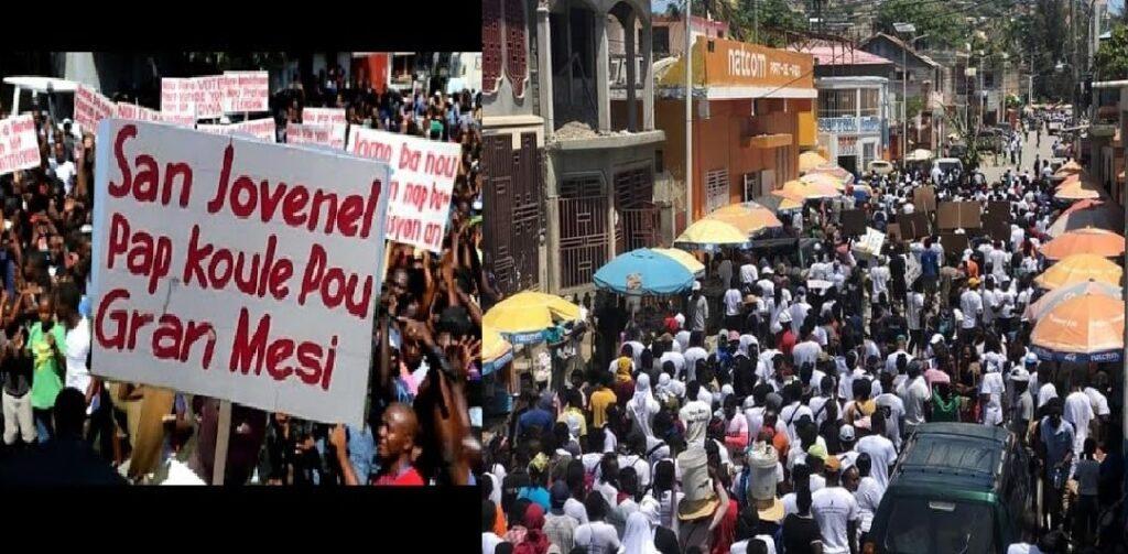 Haïti: Manifestation de rues pour réclamer justice pour le Président Jovenel Moïse