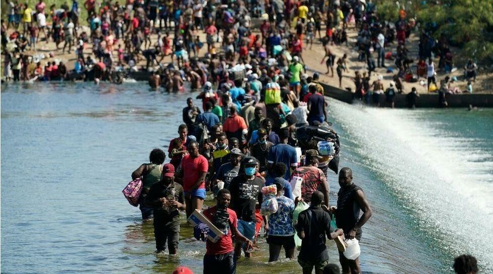 Monde: Des milliers d'Haïtiens en difficulté à la frontière américano-mexicaine