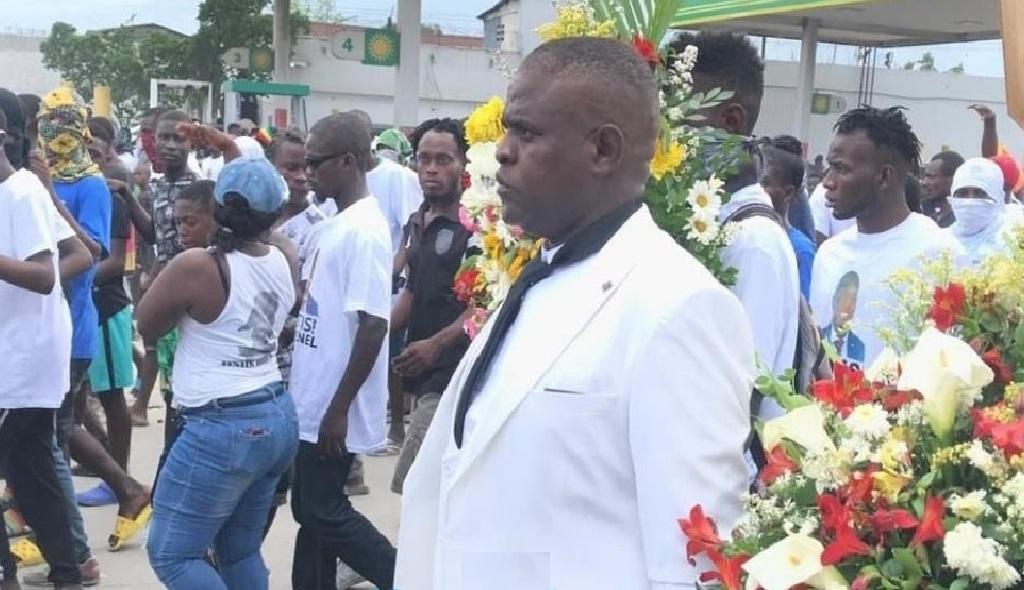 Haïti: Jimmy Chérizier au Pont-Rouge pour commémorer l'assassinat du Père fondateur de la Nation
