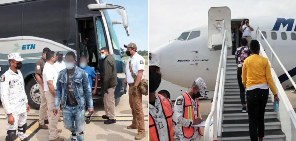 Monde: Le Mexique commence à rapatrier des migrants haïtiens volontaires